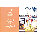 Dinner for 2 for Rs.1500/- at  Taj Hotels
