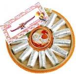 Kaju Roll Thali