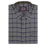 Allen Solly Corduroy Check Shirt-1 - 40