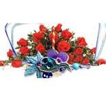 18 Red Roses & 1 Rakhi