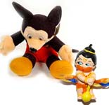 Micky Mouse Teddy with Kids Rakhi