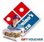 Dominos Gift Vouchers - Rs.500/-