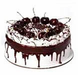 Five Star Black Forest Cake - 1 Kg.