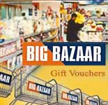 Big Bazaar Gift Vouchers - Rs.2000/-
