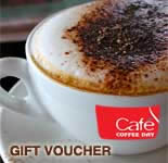 Cafe Coffee Day Gift Vouchers - Rs.500/-