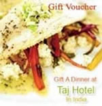 Taj Gift Vouchers - Rs.1000/-