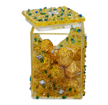 Golden Acrylic Jar