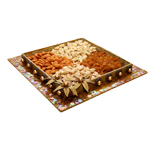 Designer Tray with Dry Fruits