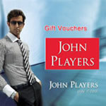 John Players Gift Vouchers Rs.1000