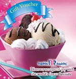 Baskin Robbins Gift Vouchers Rs.1000