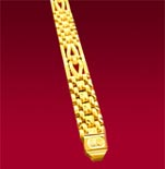 Beckham Gold Bracelet (Men)