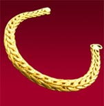 Snail Gold Bracelet (Men)