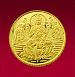 22 KT Laxmi Gold Coin 02