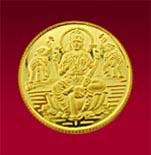 22 KT Laxmi Gold Coin 05