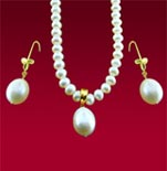 Drop Pearl Necklace