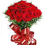 24 Lovely Red Roses