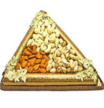 Triangular Dry Fruits Tray