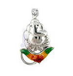 Ekadanta Diamond pendant