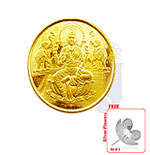 22 KT Laxmi Gold Coin-2 Grams