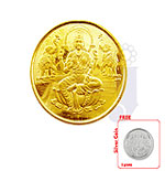 22 KT Laxmi Gold Coin -4 Grams