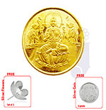 22 KT Laxmi Gold Coin-8 Grams
