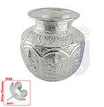 Ashta Lakshmi Silver Kalash