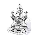 Laxmi Silver Idol