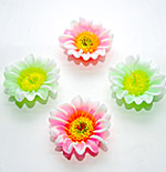 Flowery Candles