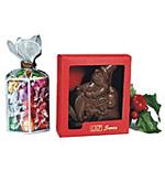 Scooter Santa Chocolate
