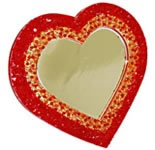 Heart Shape Acrylic Photo Frame
