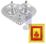 Laxmi Silver Thali Hamper