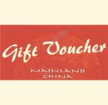 Mainland China Food Voucher Rs.3000
