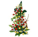 50 Red N Yellow Tall basket