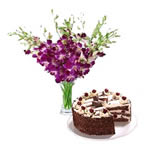 Orchid N Cake
